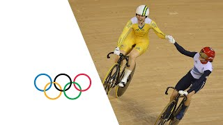 Cycling Track Women's Sprint Final GBR v AUS Full Replay | London 2012 Olympics