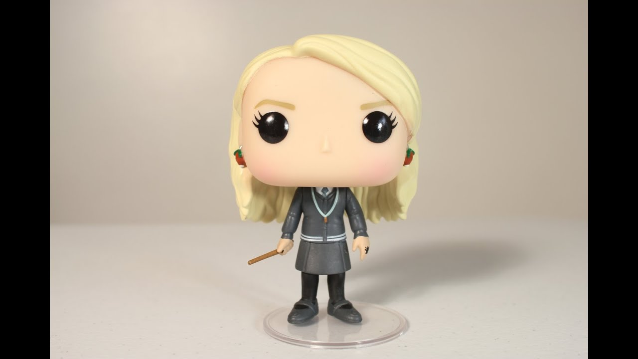 Harry Potter Luna Lovegood Funko Pop Review Youtube