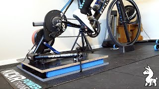 Indoor Cycling Rocker Plates - First Ride of a Wahoo KICKR Rocker
