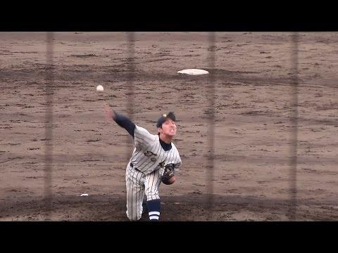 2014/4/20 佐藤雄偉知 (東海大相模高校) 長身右腕 3年春 2014年ドラフト候補
