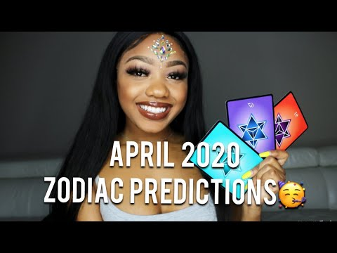 ⭐️April⭐️ Predictions For your ZODIAC SIGN 😍🔮
