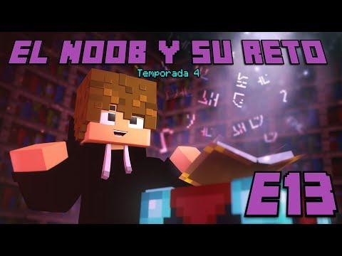 EL MEJOR ENCANTAMIENTO DE MINECRAFT?! E13 El Noob y su Reto 4 - Luzu