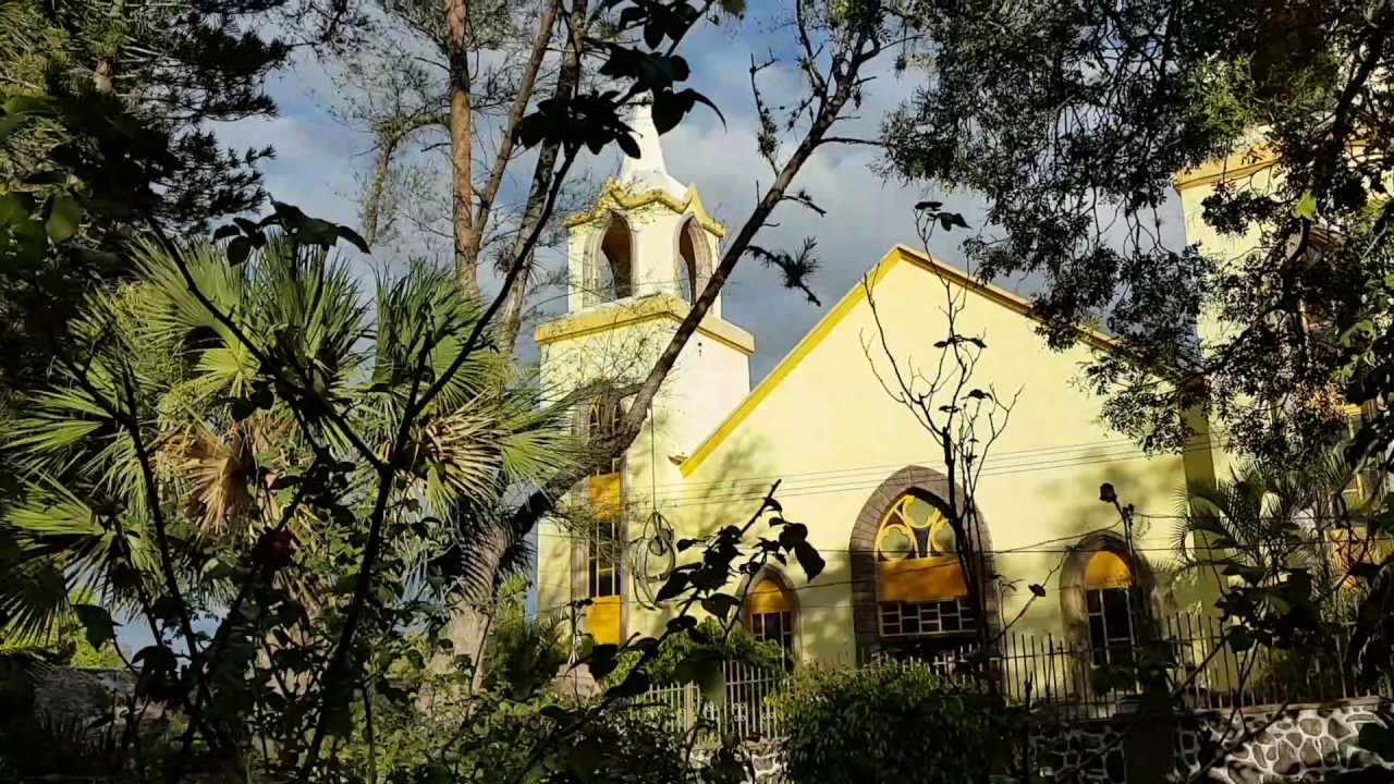 Parque Central y Catedral de San Marcos de Colon Choluteca Honduras 2017 -  YouTube