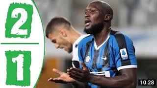 Inter Milan Vs Parma 2 1 Highlights All Goals 2020