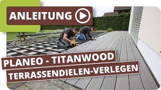 Wpc Terrassendielen Auf Alten Betonplatten Verlegen Terrasse
