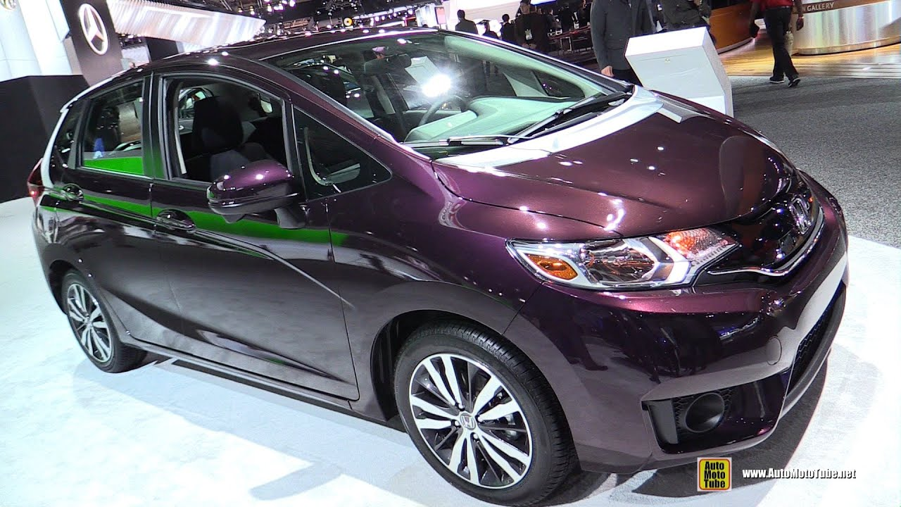 2015 Honda Fit EX Exterior And Interior Walkaround