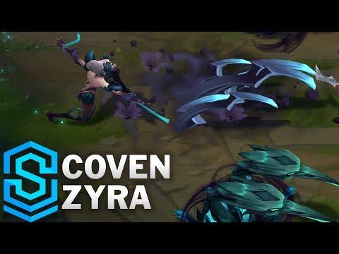 Coven Zyra Skin Spotlight - Pre-Release - League of Legends