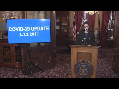 Governor Whitmer Provides Updates On The State's Response To COVID-19