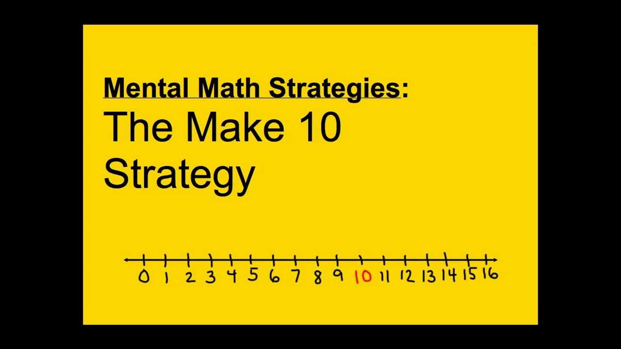 medium resolution of Mental Math Strategies Grade 2 (solutions