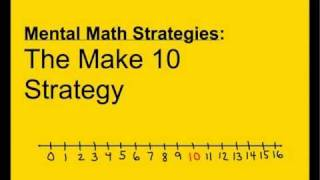 1.OA.6 / 2.OA.2 - Mental Math Strategies: Make 10