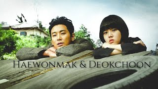 along with the gods [Haewonmak/Deokchoon] -  in love over me~
