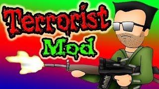 Террористы!!! Обзор Мода Minecraft! (Enemy Soldiers) №82(Интересный Мод, который добавит террористов и спецназ! А так же огнестрельное оружие. =======================================..., 2014-01-18T12:07:35.000Z)