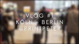 VLOG #1: Daniel Jung & PrintPeter / BERLIN