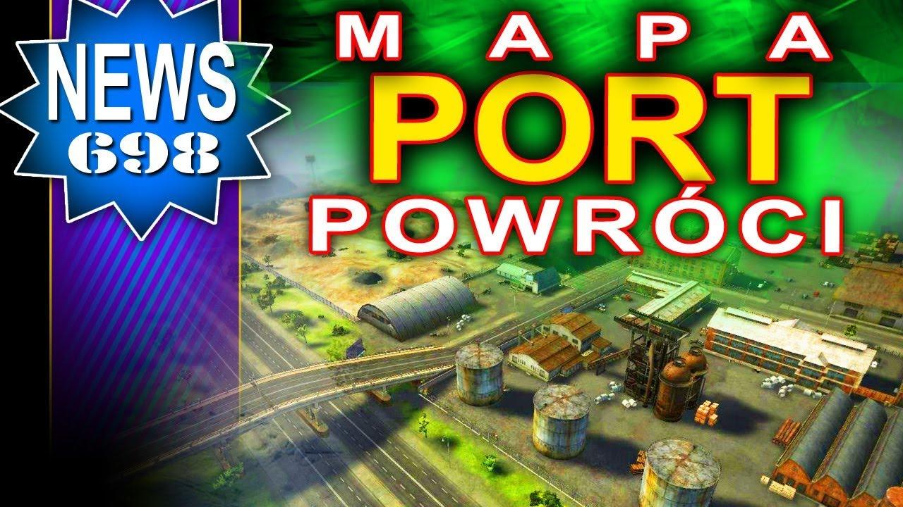 Mapa Port powraca w zmienionej formie? World of Tanks