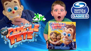 Dr. Pimple Popper's Pimple Pete by Spin Master Games - Can we pop the BIG ZIT?!