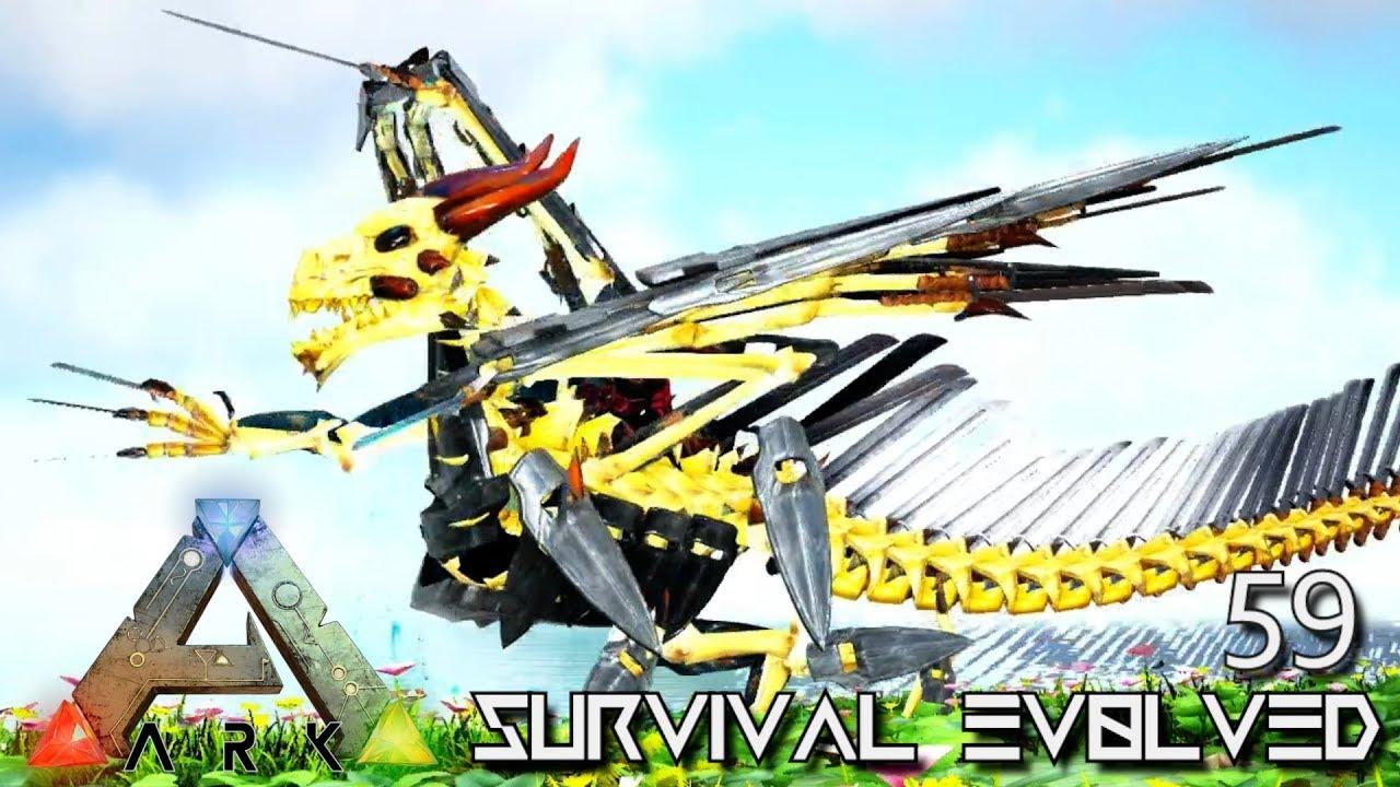 ARK: SURVIVAL EVOLVED - ARMORED DRAGON EVERLAST MONSTER E59