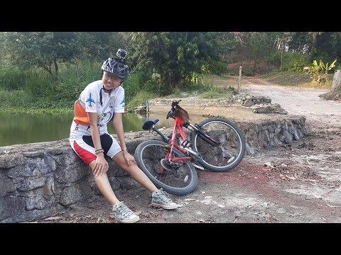 ทางจักรยาน ระยอง ไปบรุคไซค์ ออก เดอะปาร์คแอดเวนเจอร์แลนด์ 24มีค59 ขุนเขาสายน้ำฝูงกวางสวนระยอง