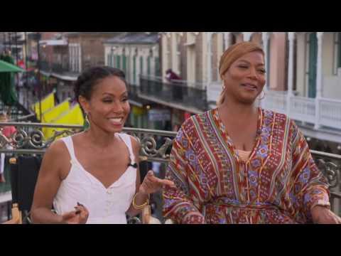 Queen Latifah & Jada Pinkett Smith Interview Girls Trip From Essence Fest