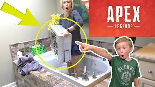 Angry Apex Legends Mom Destroys Computer in Bathtub! Dad goes INSANE!
