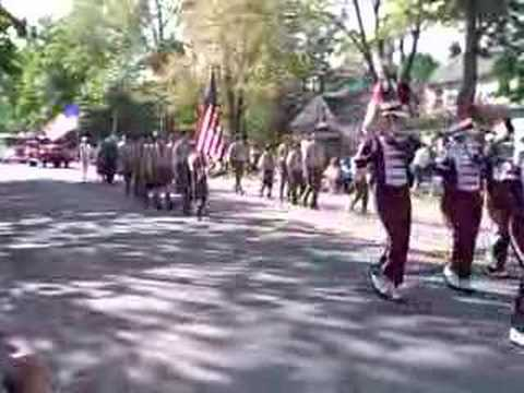 Dexter Marching Band and Troop 442