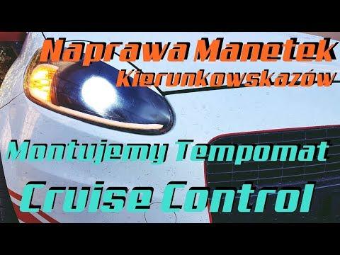 Naprawa Manetek Kierunkowskazów Oraz Montaż Tempomatu Cruise Control W Grande Punto