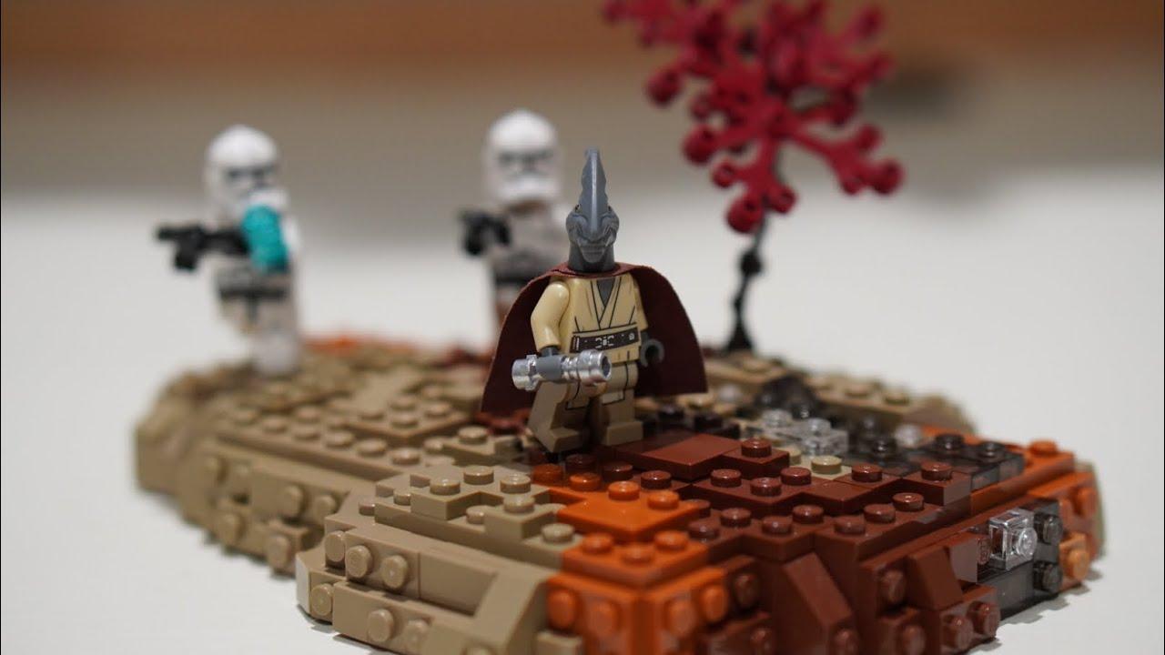 Lego Star Wars Moc Order 66 Lego Star Wars Revenge Of The Sith Moc Youtube