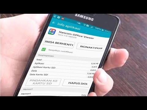 Cara hapus file atau aplikasi bawaan handphone Android.