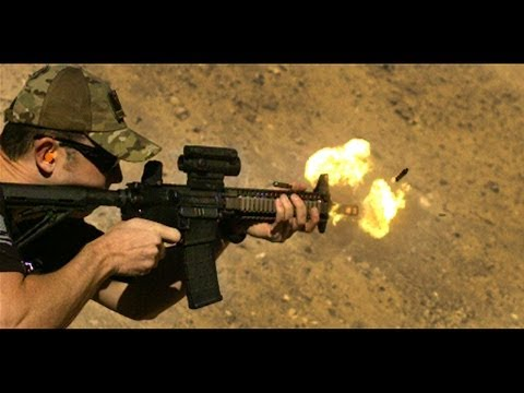Daniel Defense MK18 SBR - Full Auto - Slow Motion