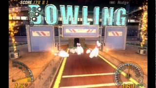Flatout 2 PS2 Gameplay (Mini Game Bowling) Playstation 2 [Empire]