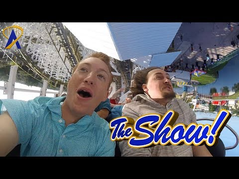 Attractions - The Show - Mine Blower; Hogwarts projections; latest news - June 29, 2017
