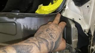 Rear body panel removal pt2