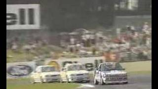 BTCC Donington 1991 - Carnage!