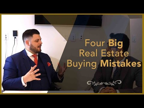 Real Estate Interview - 4 Big Real Estate Buying Mistakes - Financial Planner Perspective
