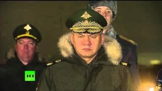 Самолет с телом пилота российского Су 24 приземлился в Подмосковье