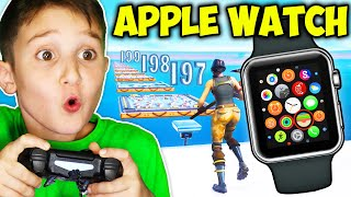 9YR OLD GETS APPLE WATCH IF BEATS DEATHRUN!!!!