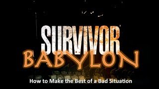 "Survivor Babylon:"" I'm Trapped"""