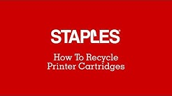 How to Recycle Printer Cartridges