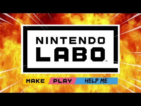 Nintendo Labo but everything goes wrong