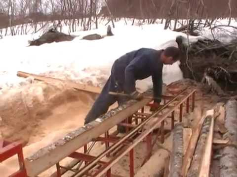 THE BEST DIY CHAINSAW MILL