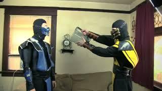REAL MORTAL KOMBAT - Scorpion & Sub Zero Get Couples Therapy (MK Parody)