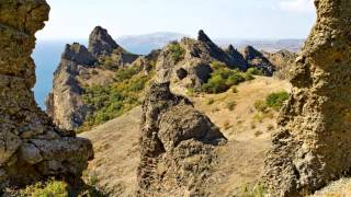 Карадагский природный заповедник в Крыму