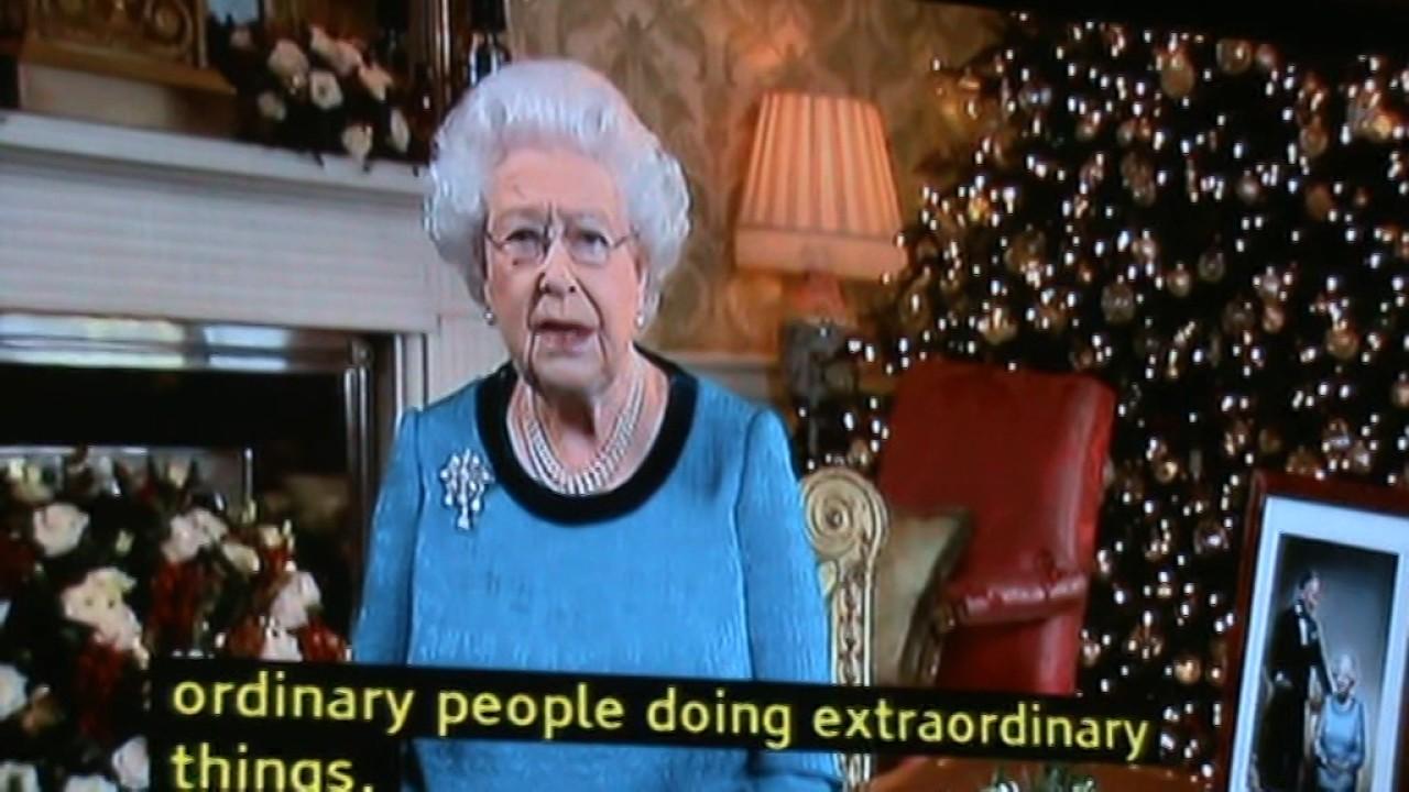 Королева елизавета 2 рождественское поздравление фото 865