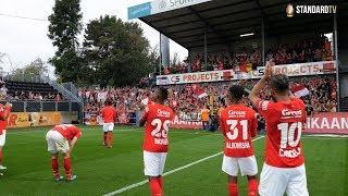 🔥 Célébration avec les supporters après la victoire à Lokeren (0-3)
