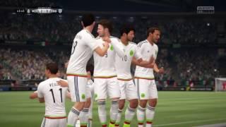 México vs Inglaterra mundial 2022 Fifa 17