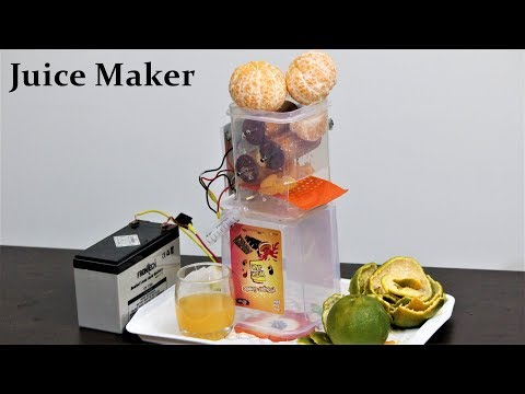 How to make a Juice Machine