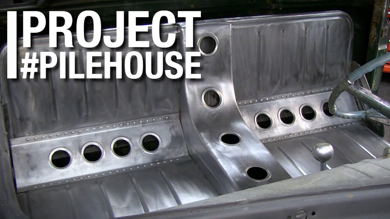 Custom Bomber Seat Fabrication On Project Pilehouse With