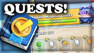 NEW Update - Quests! | Sneak Peek #1 | Clash Royale