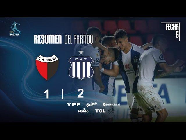 Copa Diego Maradona | Fases | Fecha 5 | resumen de Colón - Talleres