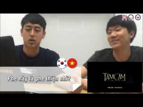 Phản ứng của người Hàn Quốc khi xem trailer