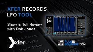 Xfer Records LFOTool custom LFO shaper Plugin Tutorial With Rob Jones
